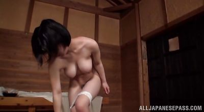 Nude playful girlfriend Kazari Hanasaki delights with hardcore shagging on cam
