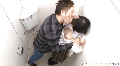 Delectable asian lady takes it hard and fast
