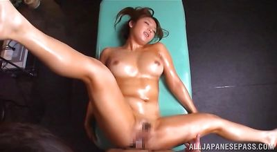 Attractive man fucks hot-tempered honey Shiori Kamisaki
