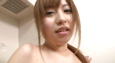 Dirty nipponese cutie is getting fucked in front of the camera because she wants to be satisfied