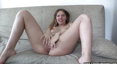 Beguiling Ricky gave a blowjob to bf and then he fucked her brains out