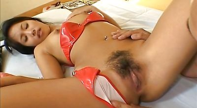 Remarkable nipponese Kawai Yui needs that big wang shoved in her honey pot