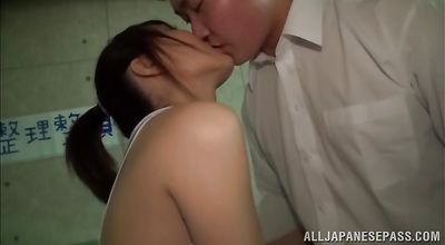 Hot asian Rika Anna receives a hard banging for being such a tease