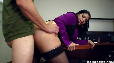 Wicked girl receives a sensual plowing