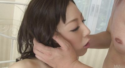 Aphrodisiac sweetie Ayane Okura is always ready for some stunning and wild banging