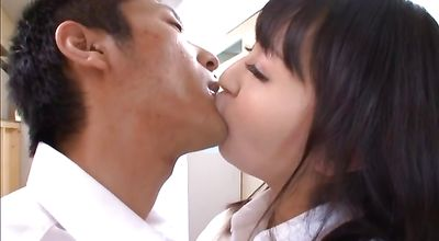 Erotic session for foxy japanese hottie Ayumi Kurebayashi