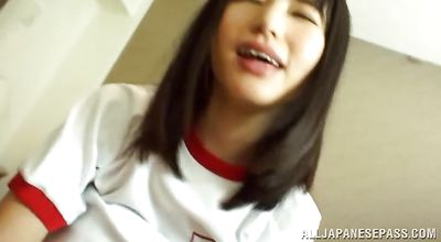 Shameless asian young Chizuru Sakura is really skilful at sucking and fucking