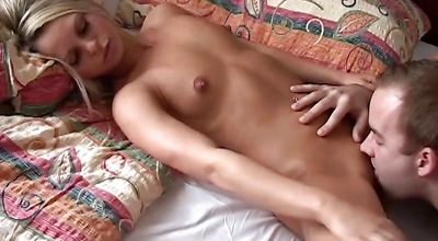 Lovable blonde young Sabrina is always ready for some very incredible pounding
