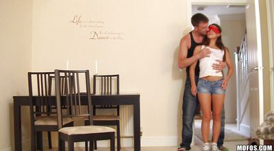Succulent Tiffany Doll gags and gets drilled by her perverted fuckmate