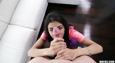 Ravishing Veronica Rodriguez is always in the mood to fuck her fellow until they both get exhausted