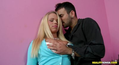 Pungent sweetheart Britney Young is in the mood to ride a hard love stick