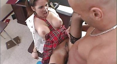 Astonishing woman Renae Cruz has her juice twat fiercely plowed